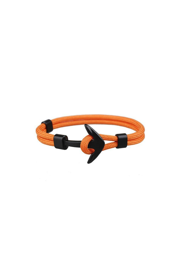 bracelet_ancre_et_corde_orange