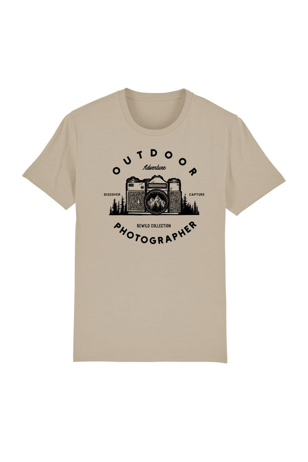 t_shirt_homme_coton_biologique_outdoor_photographer_desert