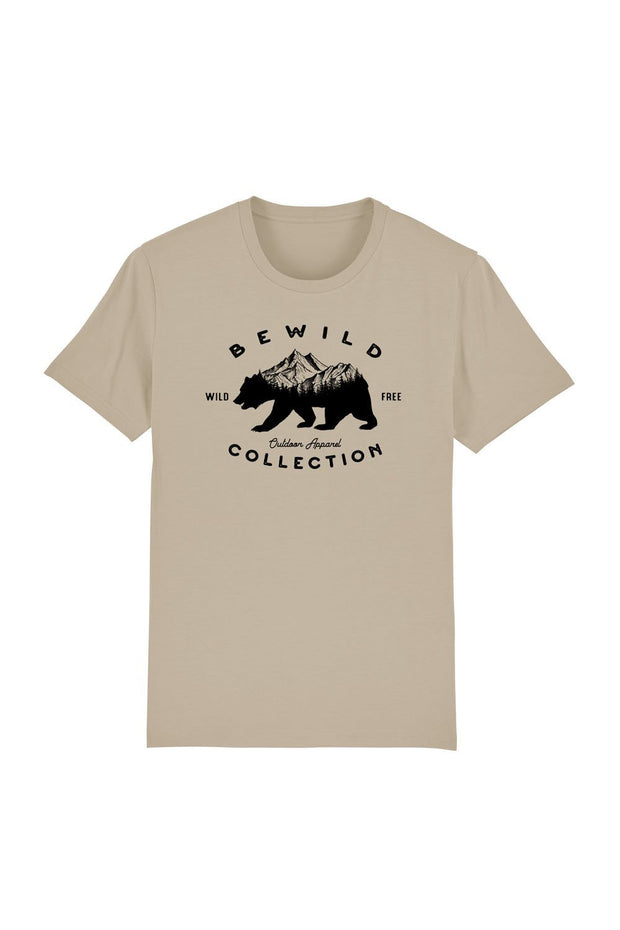 t_shirt_homme_coton_biologique_bear_mountains_bewild_collection_desert