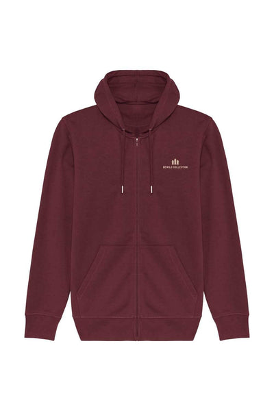 sweat_zip_capuche_femme_coton_bio_pyrenees_rouge_or