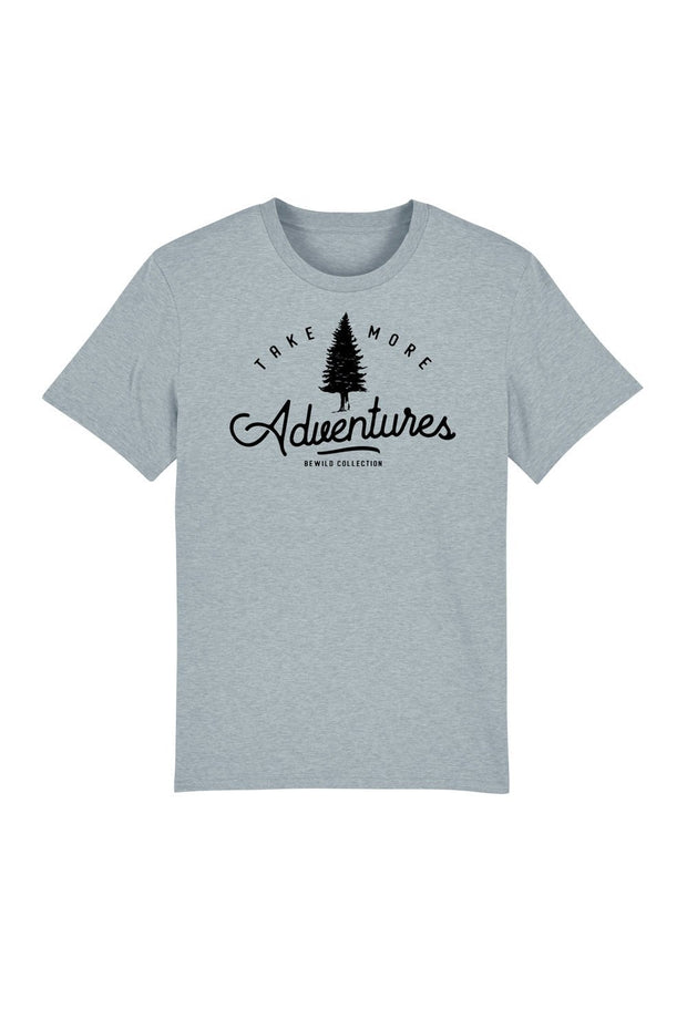 t_shirt_homme_coton_biologique_take_more_adventures_gris_bleu