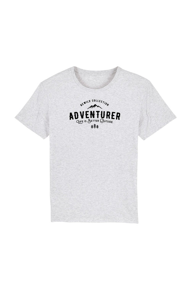 t_shirt_homme_coton_biologique_adventurer_life_is_better_outside_gris_clair