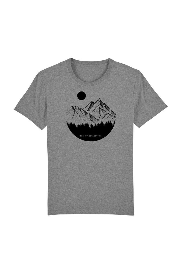 t_shirt_homme_coton_biologique_mountains_circle_pines_gris