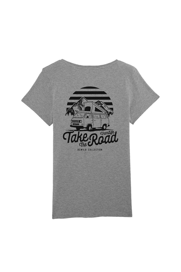 t_shirt_femme_coton_biologique_take_the_road_combi_volkswagen_t3_gris_chine