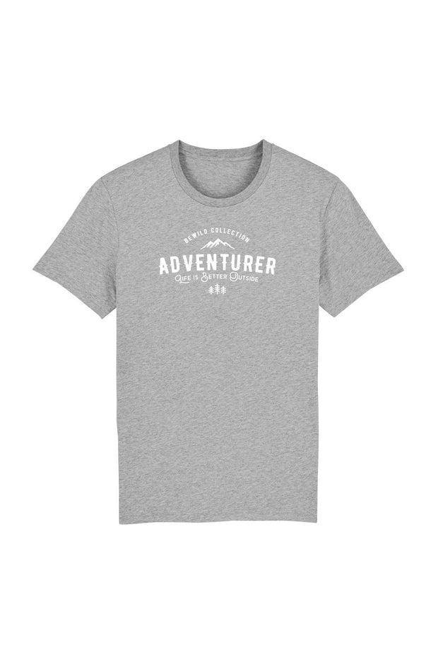 t_shirt_homme_coton_biologique_adventurer_life_is_better_outside_gris