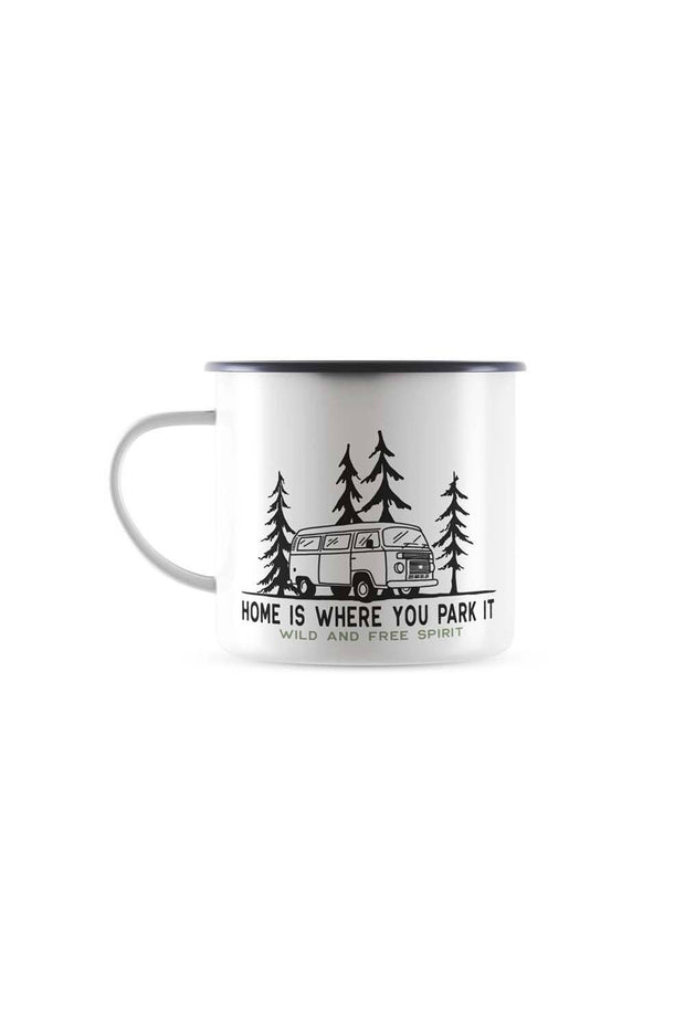 mug_emaille_vintage_tasse_van_combi_home_is_where_you_park_it