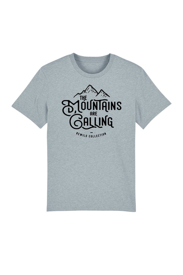 t_shirt_homme_coton_bio_mountains_are_calling_bleu_chine