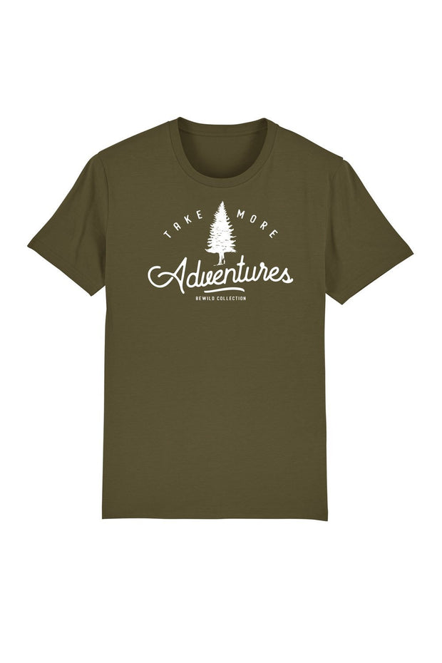 t_shirt_homme_coton_biologique_take_more_adventures_kaki