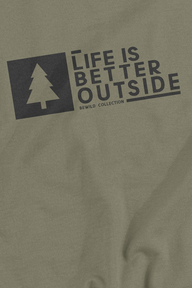 sweat_homme_coton_bio_life_is_better_outside_logo