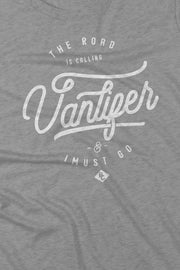 t_shirt_femme_coton_biologique_vanlifer_the_road_is_calling_logo