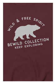 pull_homme_coton_biologique_keep_exploring_ours_logo