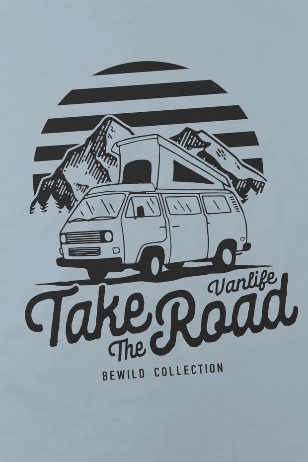 t_shirt_femme_coton_biologique_take_the_road_combi_volkswagen_t3_logo_arriere