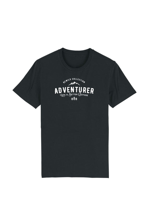 t_shirt_homme_coton_biologique_adventurer_life_is_better_outside_noir