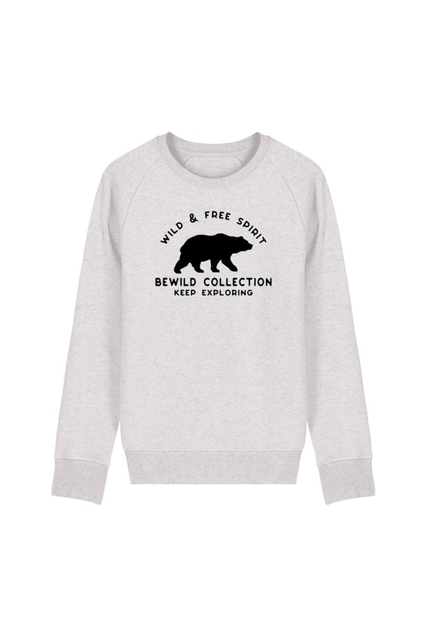 pull_homme_coton_biologique_keep_exploring_ours_creme