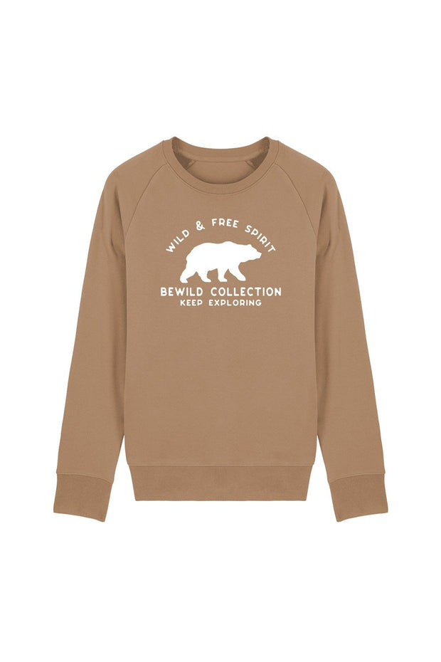 pull_homme_coton_biologique_keep_exploring_ours_beige