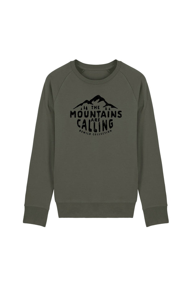 pull_homme_coton_bio_mountains_calling_vert_olive