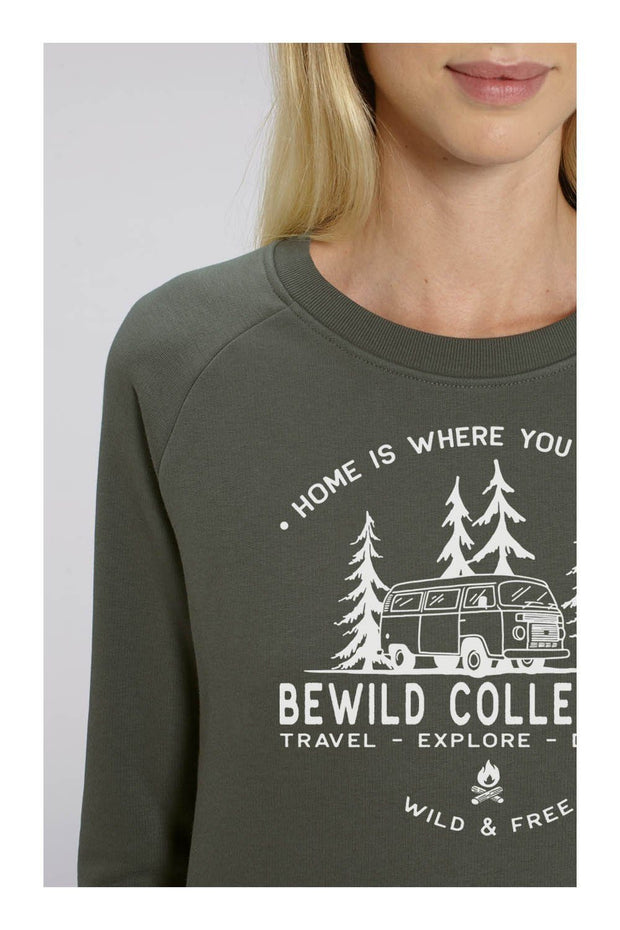 pull_femme_coton_bio_home_is_where_you_park_it_gris