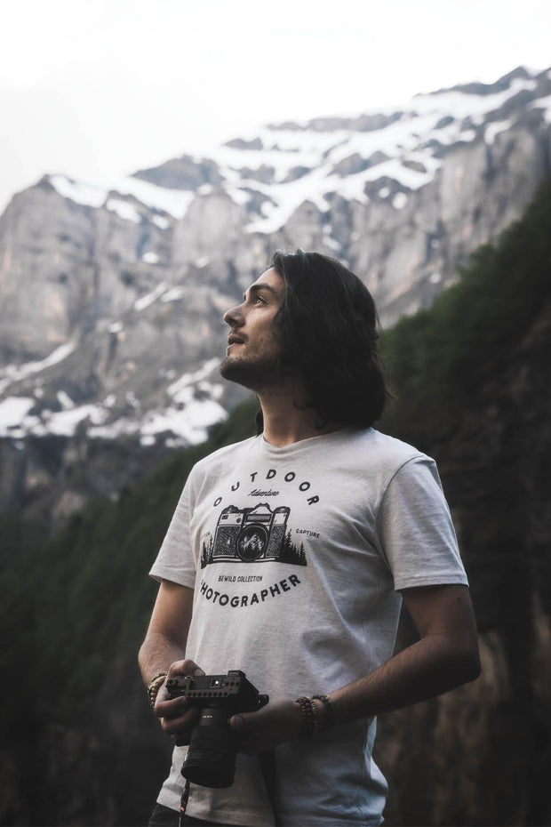 t_shirt_homme_coton_biologique_outdoor_photographer_gris_clair_chine