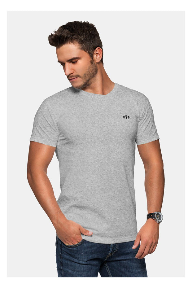 t_shirt_homme_col_v_coton_bio_broderie_sapins_gris