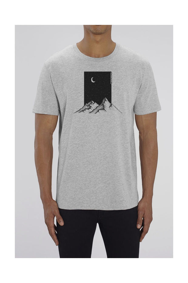 t_shirt_homme_coton_biologique_mountains_moon_gris_chine