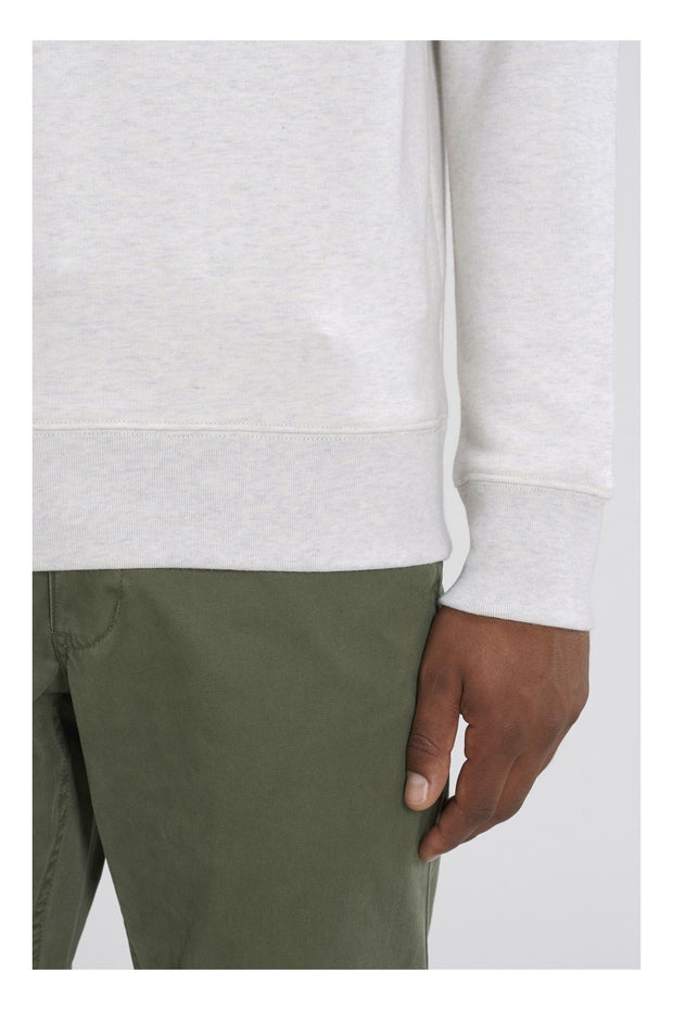 pull_homme_coton_bio_cabane_foret_detail_manche