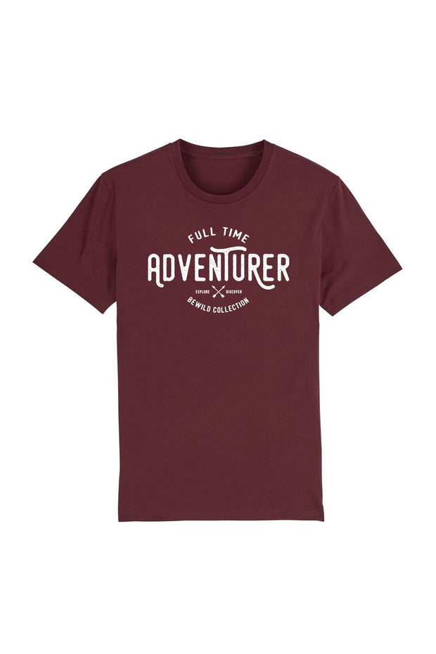 t_shirt_homme_coton_biologique_full_time_adventurer_rouge
