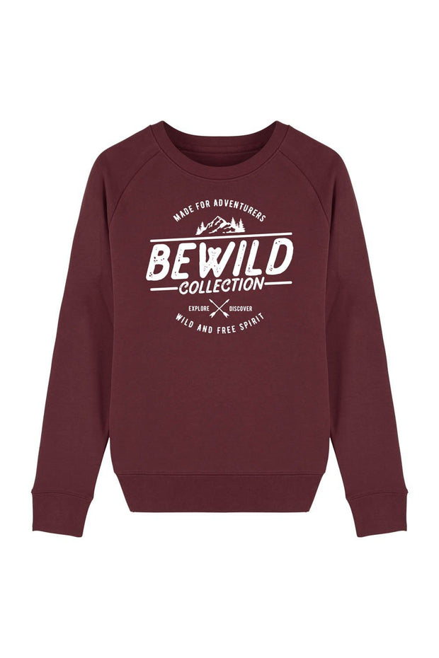 pull_femme_coton_bio_bewild_collection_rouge
