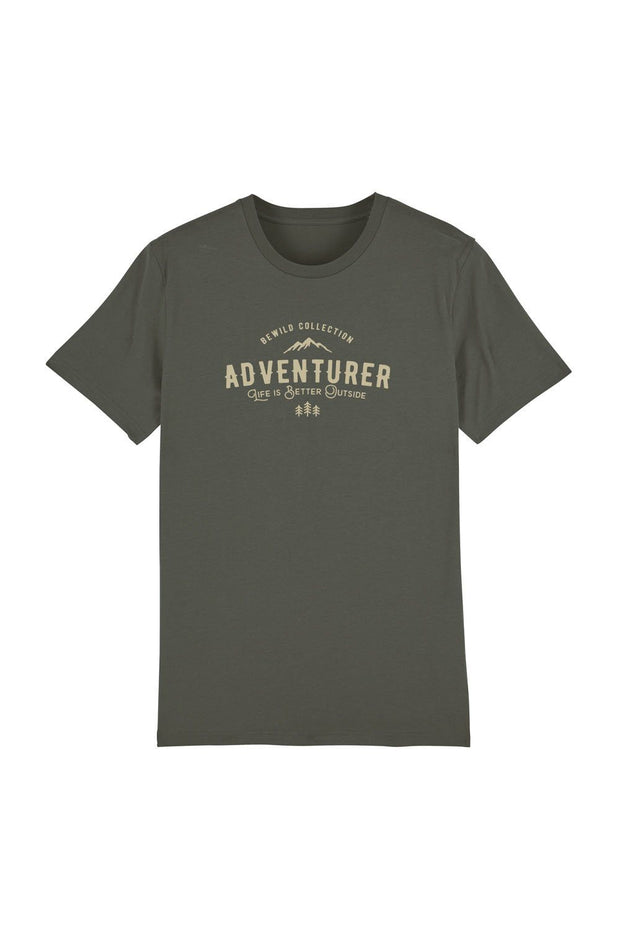 t_shirt_homme_coton_biologique_adventurer_life_is_better_outside_stone