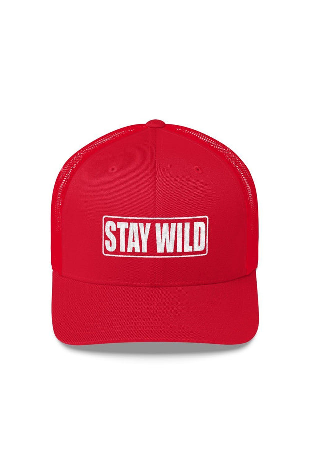 casquette_rouge_logo_brode_stay_wild