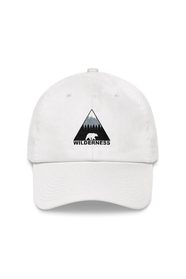 casquette_blanc_logo_brode_wilderness_ours_classic