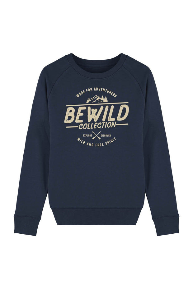 pull_femme_coton_bio_bewild_collection_navy