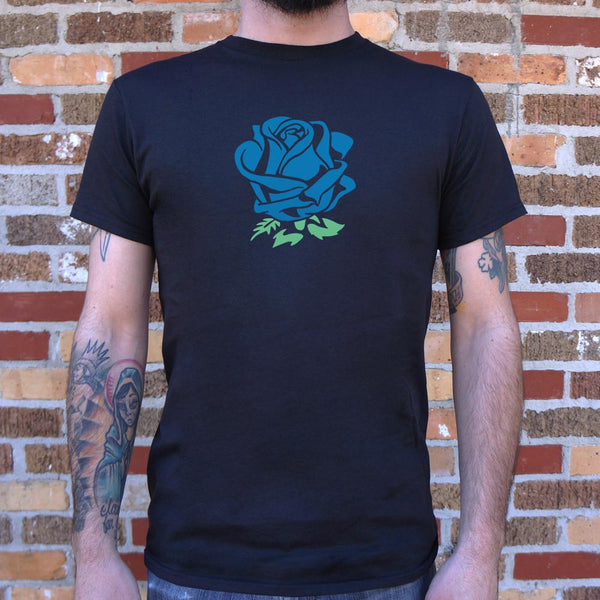 Blue Rose T-Shirt (Mens)