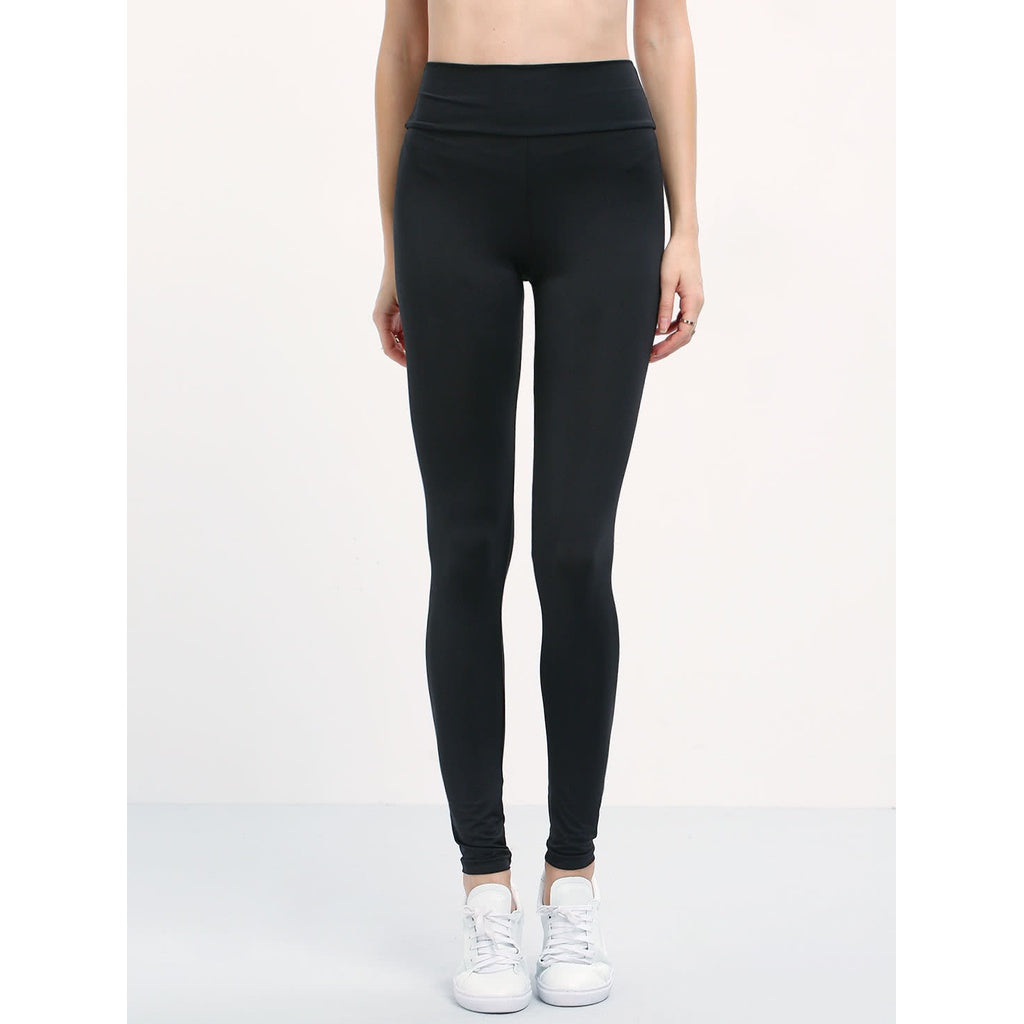 Elastic Waist Slim Leggings - legging7