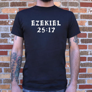 Ezekiel 25:17 T-Shirt (Mens)