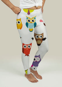 Leggings with Owls
