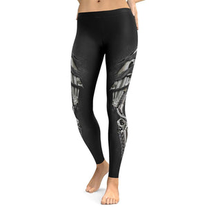 New Style Armor 3D Printing Leggings High Waist 3d legging legging 7