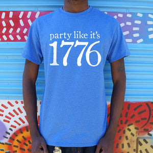 Party Like It's 1776 T-Shirt (Mens)