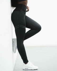 Women's Fitness Leggings Running Gym Sport High Waist Jogging Pants Trousers
