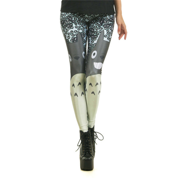 New Arrival Red Cute mickey Rat 3D Printed leggings - legging7