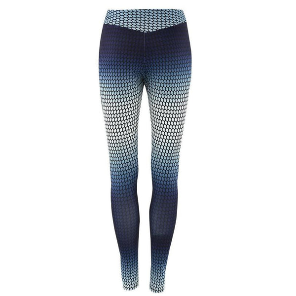 Sexy Stretch Skinny Print Slim yoga Leggings Multicolor - legging7