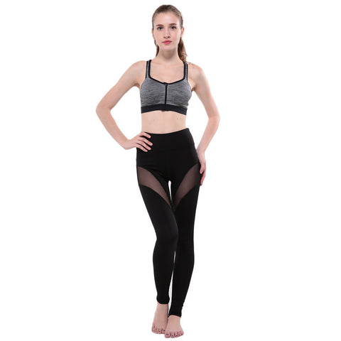 Women Yoga Pants Middle-Waisted Sexy Skinny Leggings - legging 7