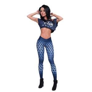 Women Push up leggings Sports Workout Mid Waist - legging 7