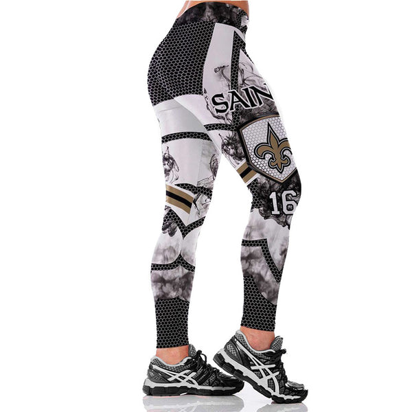 Sports Teams Leggings Yoga Fitness Tights - legging 7