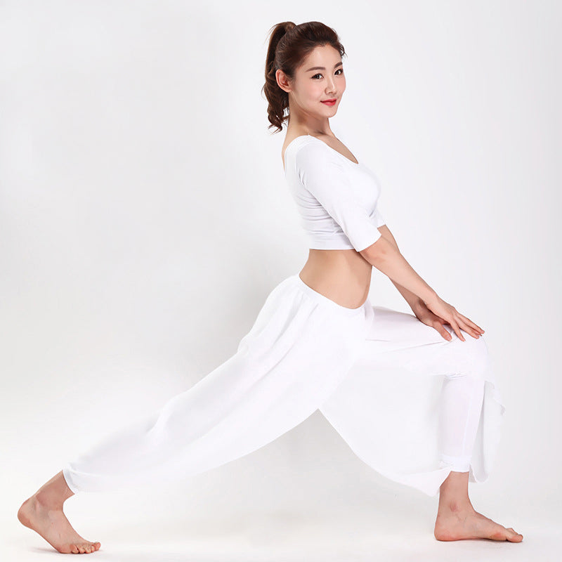 Mesh Loose Dance Pants Breathable quick dry - legging7