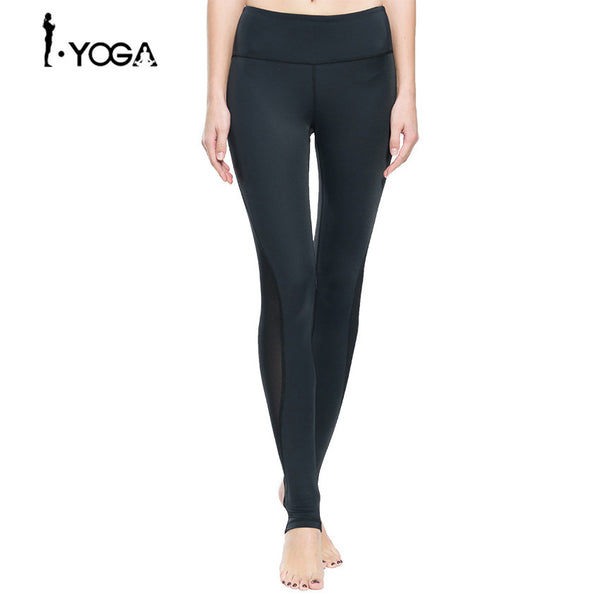 Yoga Athletic Sportswear Trousers Yoga Mesh Leggings - legging 7