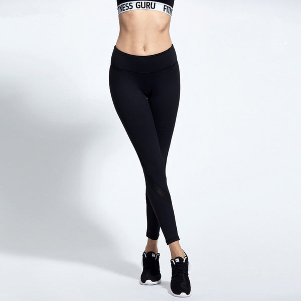 Women's Long Yoga Pants Sports Workout Tights Trousers - legging 7