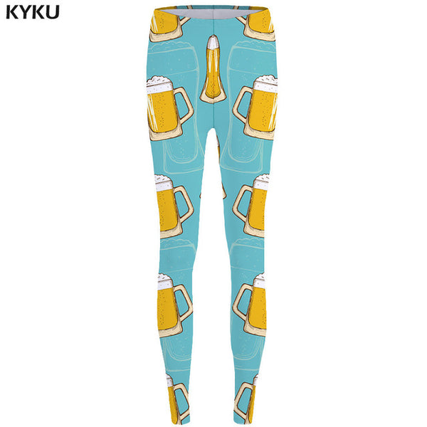 Watermelon Leggings fitness Banana 3d pants Pineapple Strawberry Sexy Leggings - legging 7