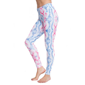 High Performance Assort Color Printed Yoga Legging