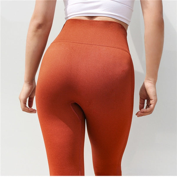 Women Gym Leggings Capri Yoga Pants Women High Waist