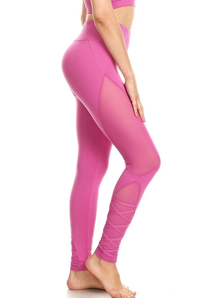 Women Yoga Capri with 4 Way Stretch - legging 7